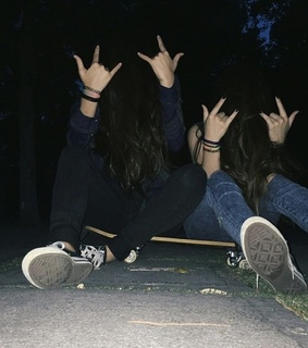 gothic, friends and grunge