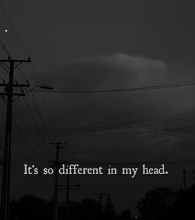 night, black and white and simple plan