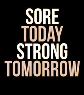 gym, sore and brave