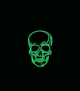 skull, wallpaper and background