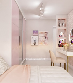 room, bedroom and pink