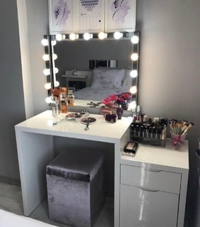 home, decoration and vanity