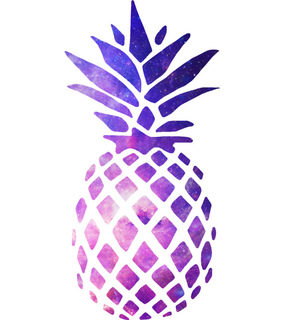 pineapple, design and illustration