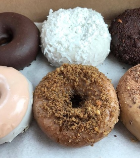 donuts, sweet and coco
