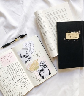 accessories, work and journal