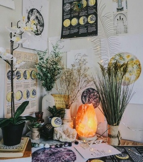 bohemian, room and bedroom