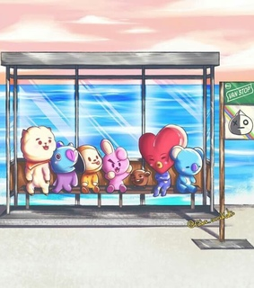 rj, cooky and bts