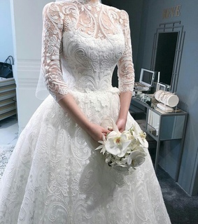 chic, bride and lace