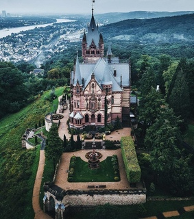 europe, germany and schloss drachenburg