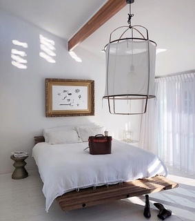 place, interior and bed