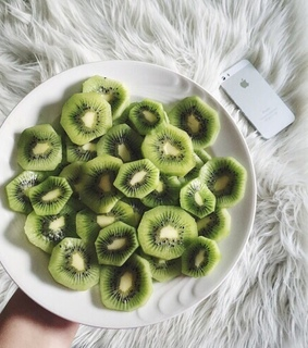 green, aesthetic and fruit
