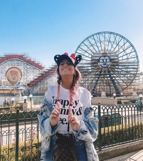 los angeles, girl and disney