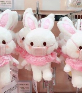 plush, wish me mell and pink