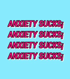 aesthetic, anxiety and sad