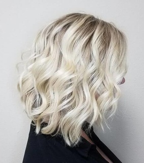 aesthetic, short hair and blonde