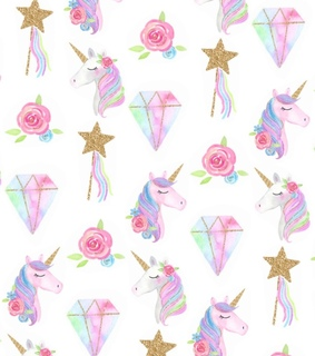 pattern, design and unicorn