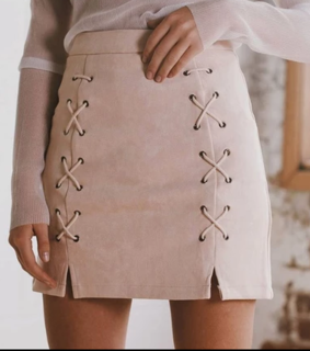 fashion, rose gold and skirt
