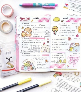 study, planner and bujo