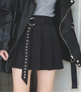 oufit, skirt and legs