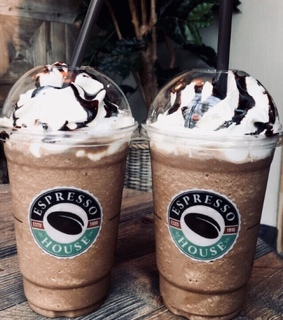 yum, frappuccino and delicious