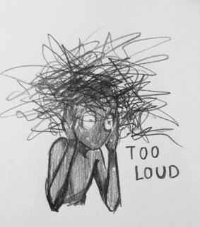 loud, sad and depression