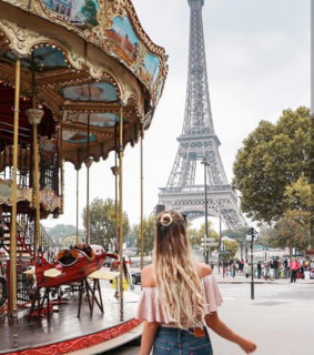 girls, paris and places