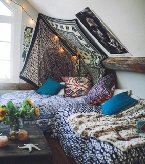 bed, Dream and room