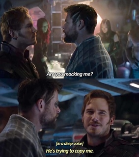 gamora, star lord and Avengers
