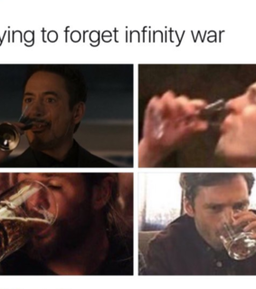 captain america, thor and infinity war