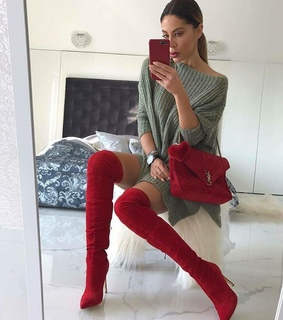 red, shoe and fashion