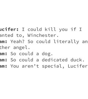 spnfamily, lucifer and hunter