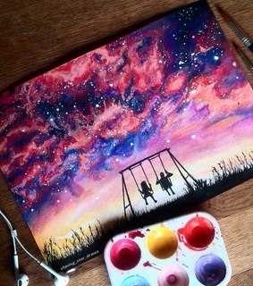 paint and art
