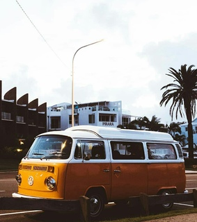 summer travel, kombi and photography