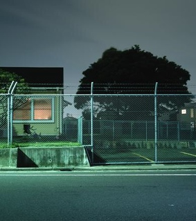 cyber, dark and fence