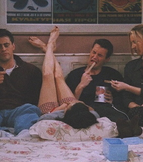 movie, monica and chandler
