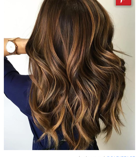dark hair, balayage and hairstyle