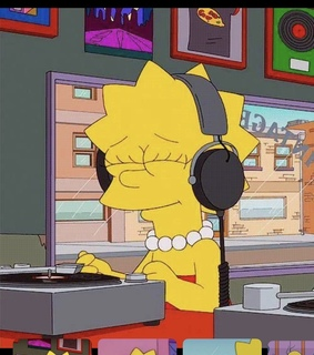 music, simpsons and mood