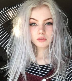 girls, hair color and cute