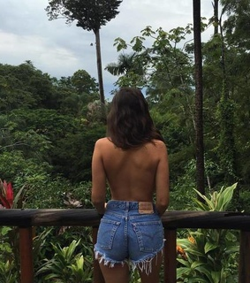 travel, back and girl