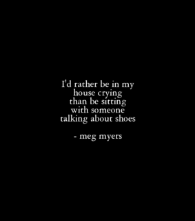 meg myers, funny and like being alone