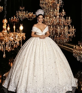 luxurious, bride and beautiful
