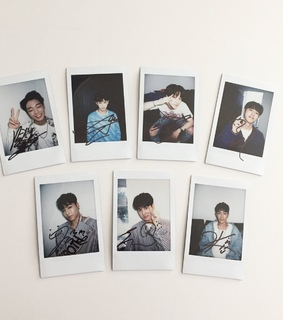 kim jiwon, polaroid and yg family