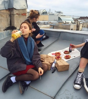 friendship, picture and lunch