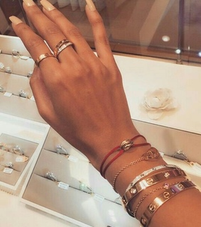 nail, accessories and rings