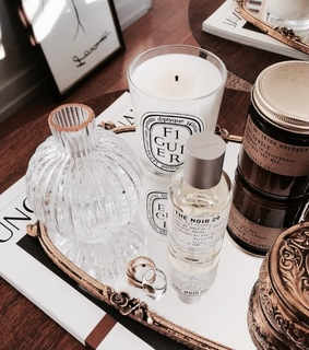 candle, makeup and girly