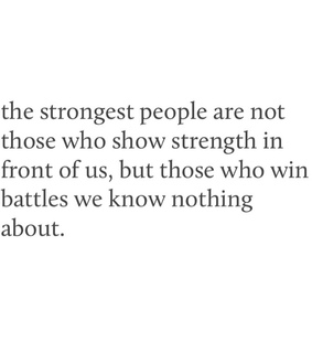 win, strongest and heartbreak
