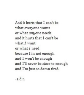 hurt, sad and quote