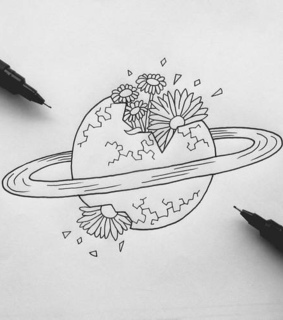 inspiration, planets and space