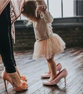 mom, cute and family