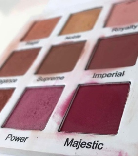 palette, eyeshadow and makeup